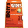The Ben's 30 Wipes Display Box come with 12 Individually-wrapped and easy-to-apply wipes are perfect for Portable Protection in packs, pockets, or purses.