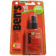 Convenient 1.25 ounce pump spray bottle with cap fits anywhere