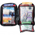 With Adventure Medical Kits' exclusive Easy Care™ First Aid System organizes items by injury with injury-specific instruction cards to help anyone quickly and confidently give first aid