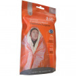 The SOL Emergency Blanket - One Person Size - reflects 90% of your body heat while also offering a number of other important features that set it apart from traditional mylar blankets