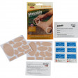 All the supplies you need for blister protection - even includes alcohol wipes for surface preparation