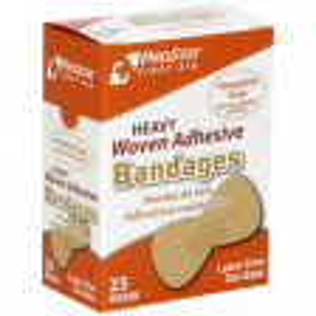 Fingertip Woven Adhesive Bandages, 25 Per Box, 2165