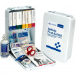 Vehicle First Aid Kit - 94 Pieces - Metal Case - 221-U/FAO