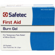 Burn Gel, .9gm Pouch, 25 per box