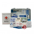 25 Person First Aid Kit, ANSI A+, Metal Case  - 90561
