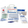 Bilingual Contractor's First Aid Kit, 10 Person - 9300-10P