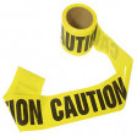 "Barricade ""Caution"" Tape - 300 - EE44"
