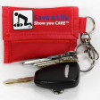 Use clasp or key ring to attach set of keys