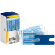 Knuckle Visible Blue Metal Detectable Bandages, 20 each - SmartTab EzRefill - FAE-3030