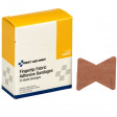 Fingertip Bandage, Fabric - 25 Per Box - G128
