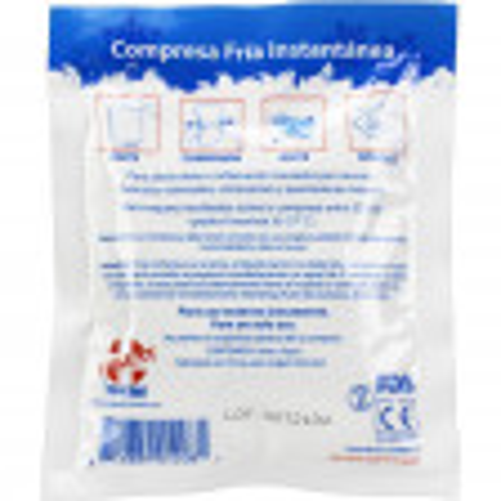 Instant Cold Compress, Bulk 4 inch x 5 inch - 125 Per Case - M563-125