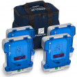 Prestan Professional Automated External Defibrillator Trainer, 4 Pack - PP-AEDT-401