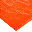 Close up of reusable tube tent fabric