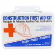 Bilingual OSHA Contractors First Aid Kit for Job Sites up to 25 People – Gasketed Metal, 180 pieces, URG-3662