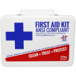 Front view of the 25 Person ANSI Z308.1-2015 Class A Urgent First Aid Kit