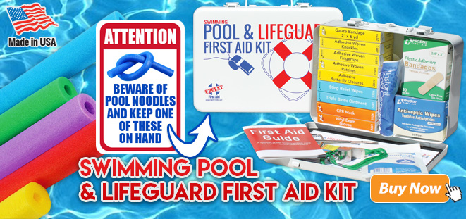 Pool and Lifeguard First Aid Kit