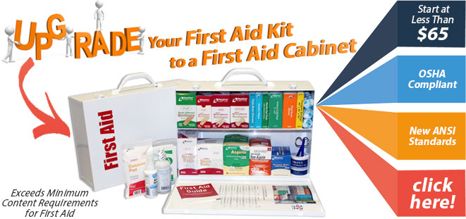 Upgrade to a First Aid Cabinet