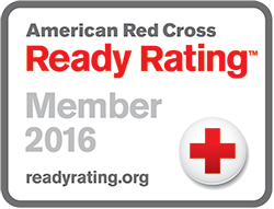 Graphic of American Red Cross Ready Rating 2015 Seal