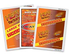 Image displaying three body warmer packs