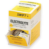 Image of swift electrolyte tablets box