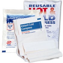 Image of reusable cold packs