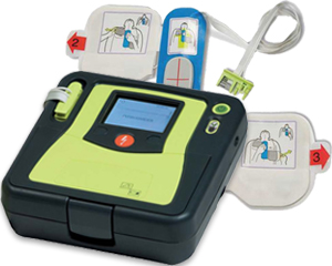 Image of AED Pro Semi-Auto/Manual and CPR-D Padz, Electrodes
