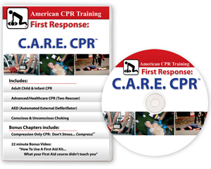 Image of American CPR Training C.A.R.E. CPR Training DVD