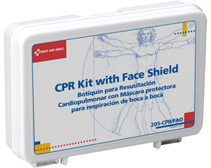 Image of First Aid Only CPR Kit with Face Shield.