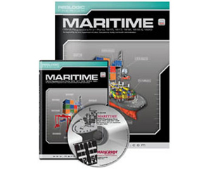 Image of maritime safety training booklet and cd-rom