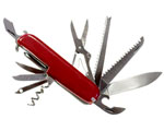 Image of a Swiss Army style knife showing the concept of a multi-function tool