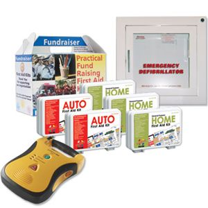 Image of Plan D: Mixed Fundraiser Kit Pack with AED